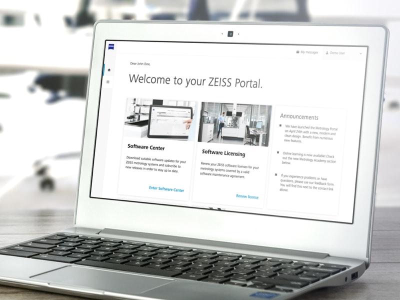 ZEISS Metrology Portal UX Design